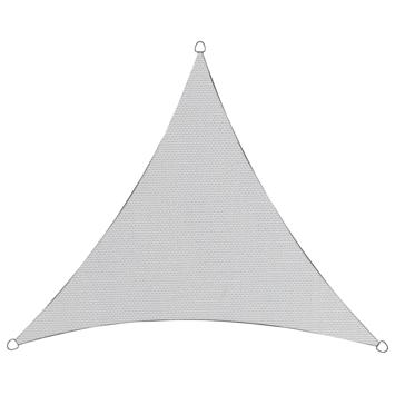 Schaduwdoek driehoek poly wit 3,6 meter