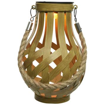 Bamboe lantaarn solar