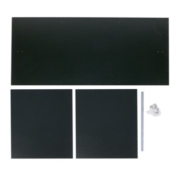 Kast Connect zwart interieurpakket 2 deurs
