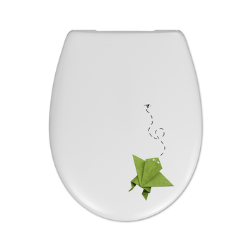 Cedo Frog & Flies wc bril softclose duroplast