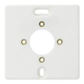 Attema Montageplaat Wit voor 1-Voudig Opbouw