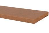 Vlonderplank Hardhout glad ca. 1,8x14,5 cm, lengte ca. 270 cm