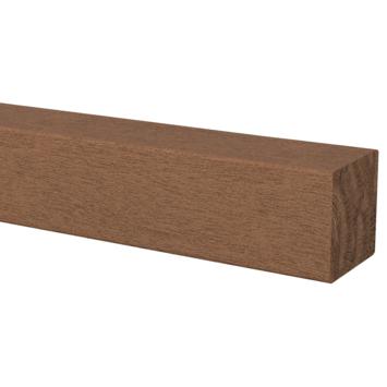 Tuinpaal hardhout ca. 6x6 cm, lengte ca. 100 cm