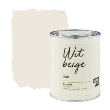Karwei binnenlak mat 750 ml wit beige