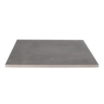 Keramische Terrastegel Kerastrada Betonlook Antraciet 60x60x2 cm