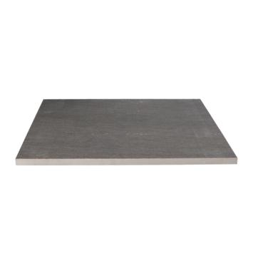 Keramische Terrastegel Kerastrada Graniet Antraciet 60x60x2 cm - 2 tegels / 0,72 m2