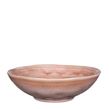 Tabo schaal roze - h9xd30,5cm