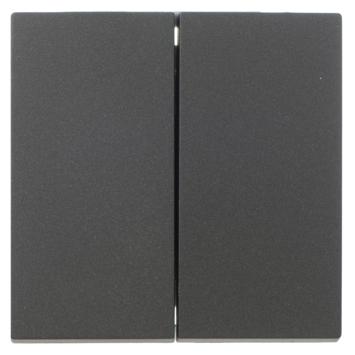 KARWEI Zenith wissel-wisselschakelaar mat zwart