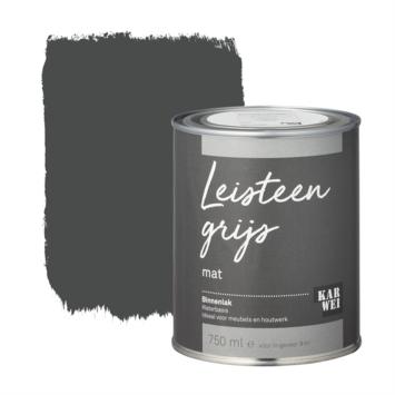 Karwei binnenlak mat 750 ml leisteen grijs