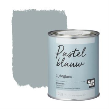 Karwei binnenlak zijdeglans 750 ml pastel blauw