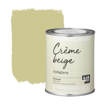 Karwei binnenlak zijdeglans 750 ml crème beige