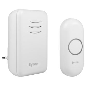 Byron DBY-22312 Draadloze deurbelset plugin 150m