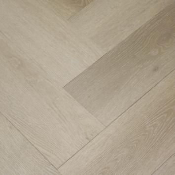 Le Noir et Blanc Click PVC Stretto Naturel Eiken visgraat 4V-groef 6 mm 1,35 m2
