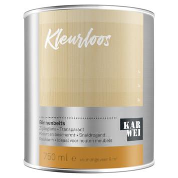 KARWEI binnenbeits kleurloos 750 ml