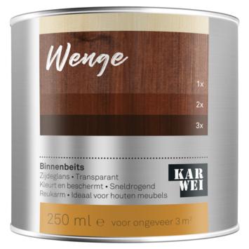 KARWEI binnenbeits wengé transparant 250 ml
