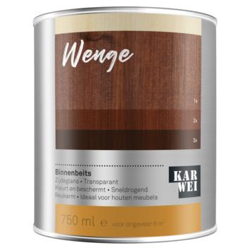 KARWEI binnenbeits wengé transparant 750 ml