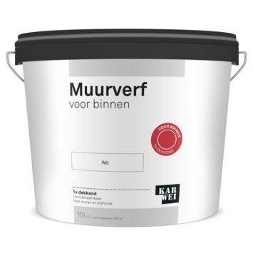 KARWEI muur- en plafondverf binnen wit 10 liter