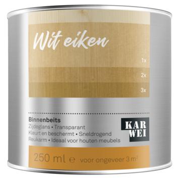 KARWEI binnenbeits wit eiken transparant 250 ml