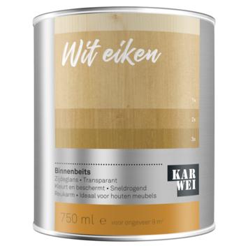 KARWEI binnenbeits wit eiken transparant 750 ml