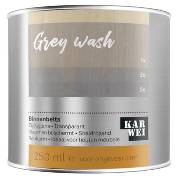 KARWEI binnenbeits grey wash transparant 250 ml