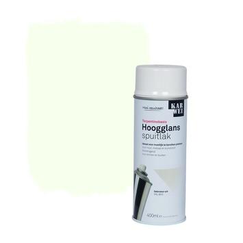 KARWEI spuitlak hoogglans gebroken wit (RAL 9010) 400 ml