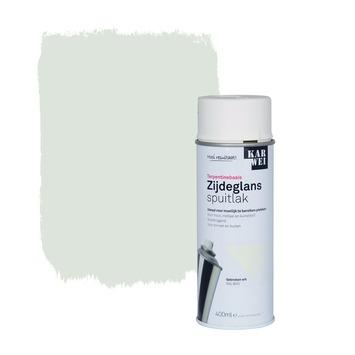 KARWEI spuitlak zijdeglans gebroken wit (RAL 9010) 400 ml
