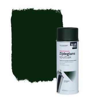 KARWEI spuitlak zijdeglans klassiek groen 400 ml