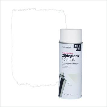 KARWEI spuitlak zijdeglans wit (RAL 9016) 400 ml