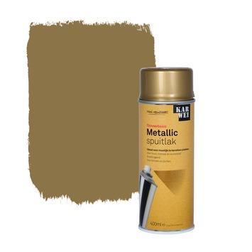 KARWEI spuitlak zijdeglans metallic goud 400 ml