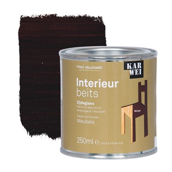 KARWEI binnenbeits interieur wengé transparant 250 ml