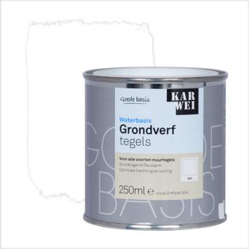 KARWEI grondverf waterbasis tegels wit 250 ml