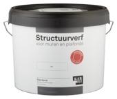 KARWEI structuurverf mat wit 10 liter