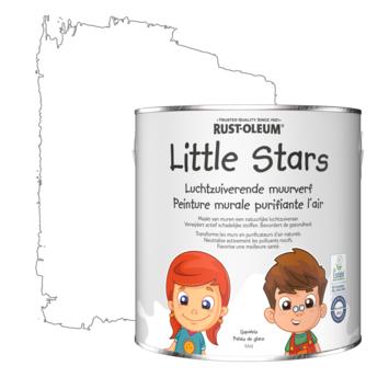 Rustoleum Little Stars Luchtzuiverende Muurverf 2,5 liter IJspaleis