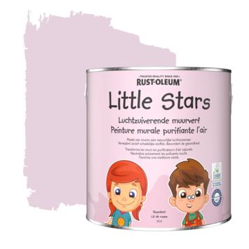Rustoleum Little Stars Luchtzuiverende Muurverf 2,5 liter Rozenbed