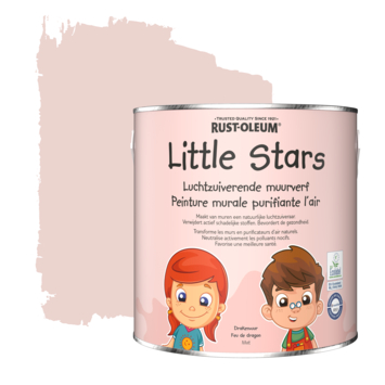 Rustoleum Little Stars Luchtzuiverende Muurverf 2,5 liter Drakenvuur