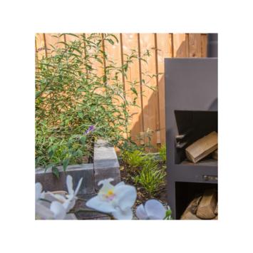 Stapelblok Beton Getrommeld Bruin/Zwart 60x12x12 cm