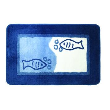 Sealskin Marina badmat blauw 55 x 85 cm