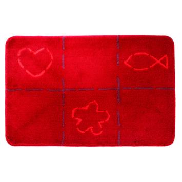 Sealskin Tack badmat rood 60 x 90 cm