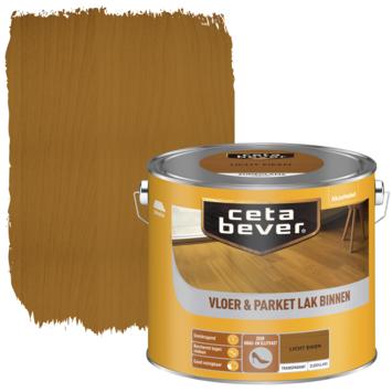 Cetabever vloer - & parketlak transparant licht eiken zijdeglans 2,5 l