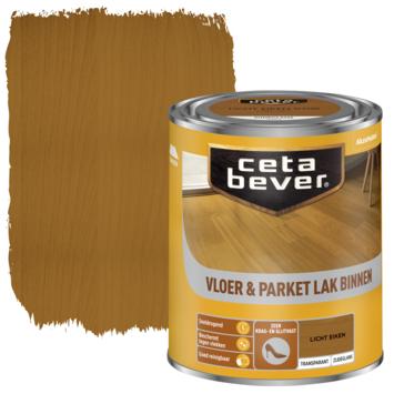 Cetabever vloer- & parketlak transparant licht eiken zijdeglans 750 ml