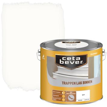 Cetabever trappenlak dekkend wit zijdeglans 2,5 l