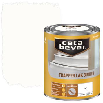 Cetabever trappenlak dekkend wit zijdeglans 750 ml