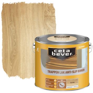Cetabever trappenlak antislip transparant blank zijdeglans 2,5 l