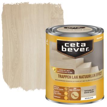 Cetabever traplak natuurlijk effect white wash 750 ml
