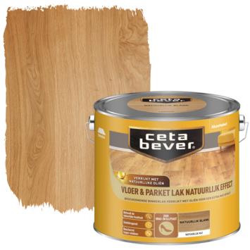 Cetabever vloer- en parketlak natuurlijk effect blank 2,5 liter