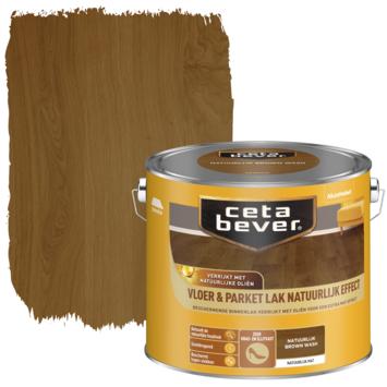 Cetabever vloer- en parketlak natuurlijk effect brown wash 2,5 liter