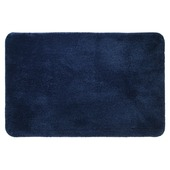 Sealskin Angora badmat blauw 60 x 90 cm