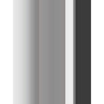 Le Noir & Blanc Dual douchegordijn grijs 180 x 200 cm