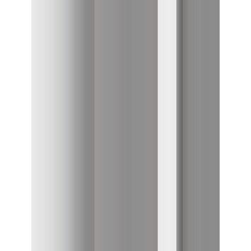 Le Noir & Blanc Dual douchegordijn taupe 180 x 200 cm