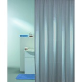 KARWEI Solid douchegordijn grijs 180 x 200 cm